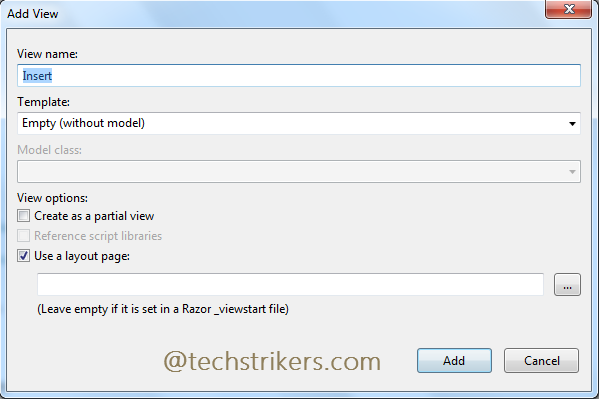 JQGrid in ASP NET MVC 5 With Razor View And Entity Framework
